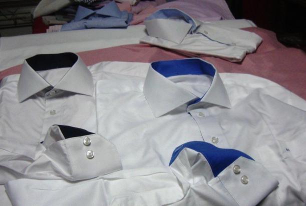 camisas com detalhes